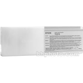 Epson T591900 Light Black UltraChrome Ink Cartridge