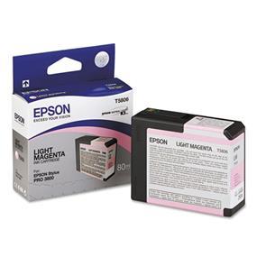 Epson T5806 Light Magenta Ultrachrome K3 Ink Cartridge