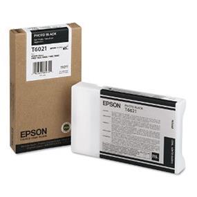 Epson T6021 Photo Black UltraChrome K3 110ml Ink Cartridge