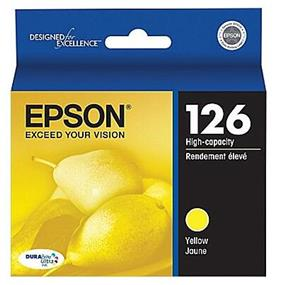 Epson 126 XL Yellow Ink Cartridge (T126420)