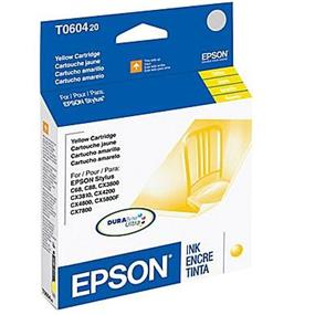 Epson 60 Yellow Ink Cartridge (T060420-S)
