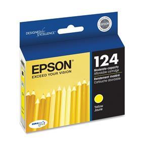 Epson 124 Yellow Ink Cartridge