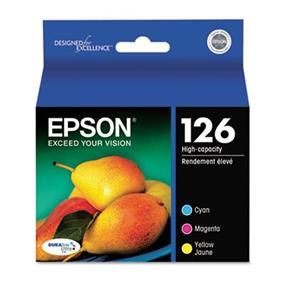 Epson 126 C/M/Y 3-Pack High Capacity Ink Cartridges
