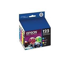 Epson 125 C/M/Y/K 4-Pack Ink Cartridges