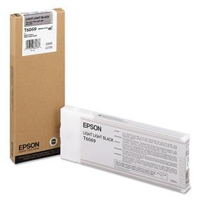Epson T6069 Light Light Black UltraChrome K3 220ml Ink Cartridge