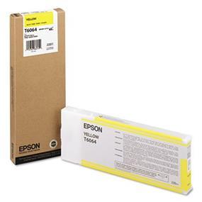 Epson T6064 Yellow UltraChrome K3 220ml Ink Cartridge