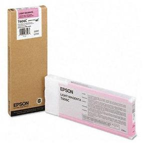 Epson T606C Light Magenta UltraChrome K3 220ml Ink Cartridge