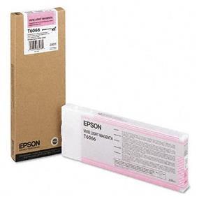 Epson T6066 Vivid Light Magenta UltraChrome K3 220ml Ink Cartridge