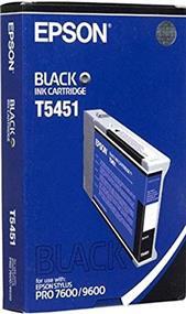 Epson T5451 Black Photographic Dye Ink Cartridge