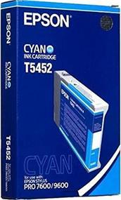 Epson T5452 Cyan Photographic Dye Ink Cartridge