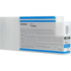 Epson T5962 Cyan UltraChrome HDR 350ml Ink Cartridge