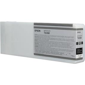 Epson T6368 Matte Black UltraChrome HDR 700ml Ink Cartridge