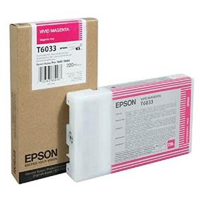 Epson T6033 Magenta UltraChrome K3 220ml Ink cartridge