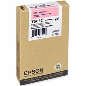 Epson T603C Light Magenta UltraChrome K3 220ml Ink cartridge