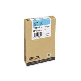 Epson T6035 Light Cyan UltraChrome K3 220ml Ink Cartridge
