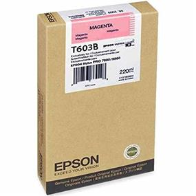 Epson T603B Magenta UltraChrome K3 220ml Ink Cartridge