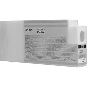 Epson T5967 Light Black Ultrachrome HDR 350ml Ink Cartridge