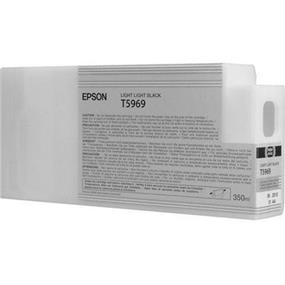 Epson T5969 Light Light Black Ultrachrome HDR 350ml Ink Cartridge
