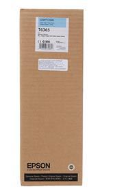 Epson T6365 Light Cyan UltraChrome HDR 700ml Ink Cartridge