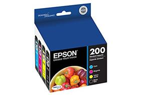 Epson 200 C/M/Y/K 4-Pack Ink Cartridges