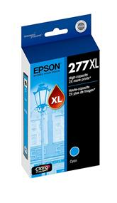 Epson 277XL High Capacity Cyan Ink Cartridge(T277XL220)
