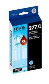 Epson 277XL High Capacity Light Cyan Ink Cartridge(T277XL520)
