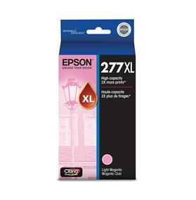 Epson 277XL High Capacity Light Magenta Ink Cartridge(T277XL620)