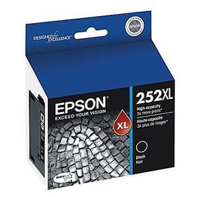 Epson 252 XL High Capacity Black Ink Cartridge(T252XL120)