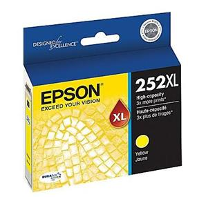 Epson 252XL High Capacity Yellow Ink Cartridge(T252XL420)