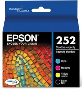 Epson 252 C/M/Y/K 4-Pack Ink Cartridge