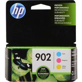 HP 902 Cyan, Magenta & Yellow Original Ink Cartridges, 3 pack (T0A38AN)