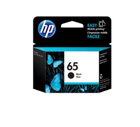HP 65 Black Original Ink Cartridge (N9K02AN)