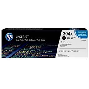 HP 304A (CC530A) Black Original LaserJet Toner Cartridge
