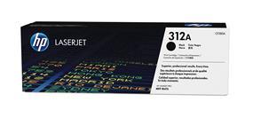 HP 312A (CF380A) Black Original LaserJet Toner Cartridge