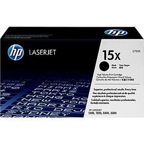 HP 15X Black High Yield Original LaserJet Toner Cartridge (C7115X)