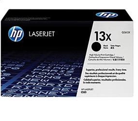 HP 13X (Q2613X) Black High Yield Original LaserJet Toner Cartridge