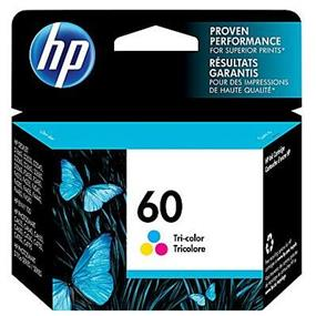 HP 60 Tri-colour Original Ink Cartridge (CC643WN)