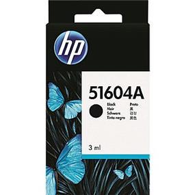 HP Thinkjet and HP Quietjet Black Inkjet Print Cartridges (51604A)