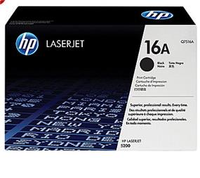 HP 16A (Q7516A) Black Original LaserJet Toner Cartridge