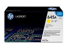 HP 645A Yellow Original LaserJet Toner Cartridge (C9732A)