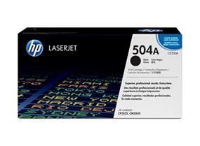 HP 504A (CE250A) Black Original LaserJet Toner Cartridge