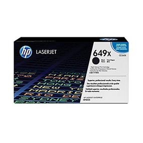 HP 649X (CE260X) Black High Yield Original LaserJet Toner Cartridge