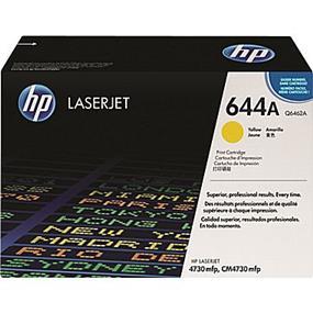 HP 644A (Q6462A) Yellow Original LaserJet Toner Cartridge