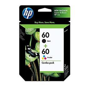 HP 60 Black/Tri-color Ink Cartridges Combo Pack (N9H63FN )