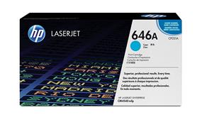 HP 646A (CF031A) Cyan Original LaserJet Toner Cartridge