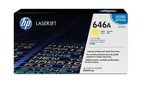 HP 646A (CF032A) Yellow Original LaserJet Toner Cartridge