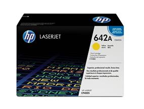 HP 642A (CB402A) Yellow Original LaserJet Toner Cartridge