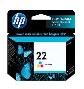 HP 22 Tri-colour Original Ink Cartridge (C9352AN)