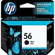 HP 56 Black Ink Cartridge(C6656AN140)