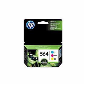 HP 564 Cyan, Magenta & Yellow Original Ink Cartridges, 3 pack (N9H57FN)
